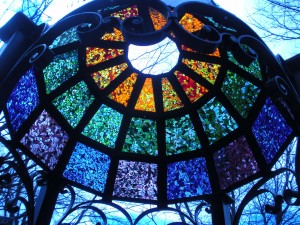 Custom Stained Glass Dome